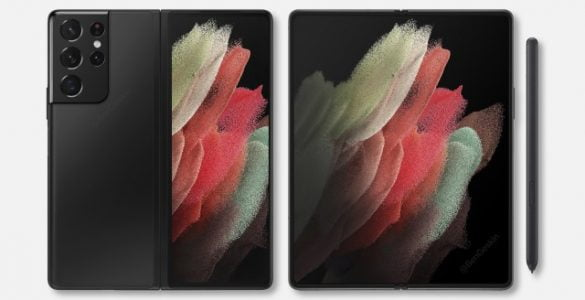 De eerste renders van de Galaxy Z Fold3 geven ons een inkijk in het nieuwe model.