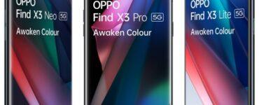 Dit zijn de prijzen voor de Oppo Find X3.