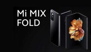 Xiaomi lanceert de Mi Mix Fold als hun eerste opvouwbare smartphone.
