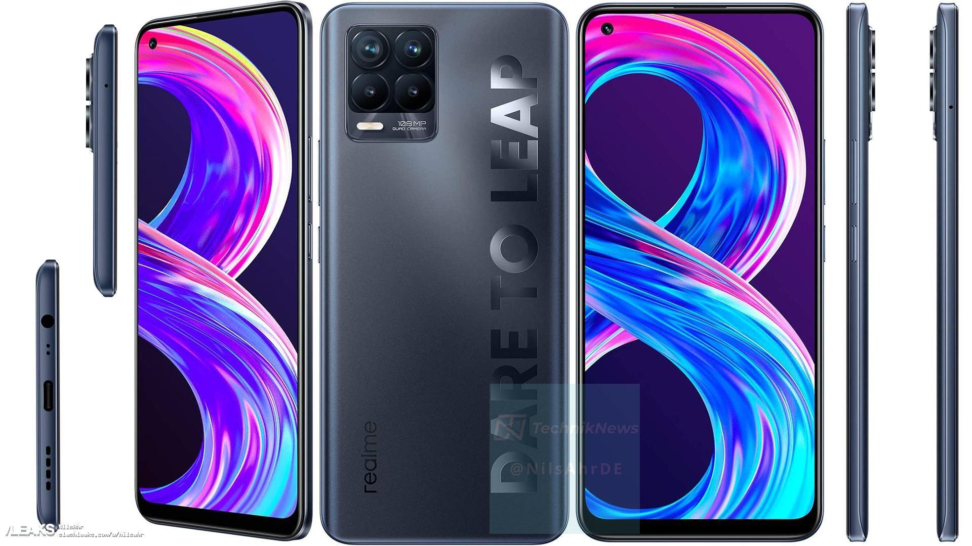 Realme 8 Pro officieel gelanceerd.