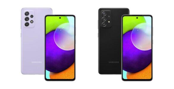 Samsung Galaxy A52 en Galaxy A72 officieel gelanceerd.