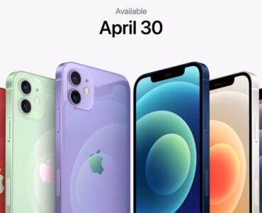 Apple iPhone 12 is nu ook leverbaar in de kleur paars.