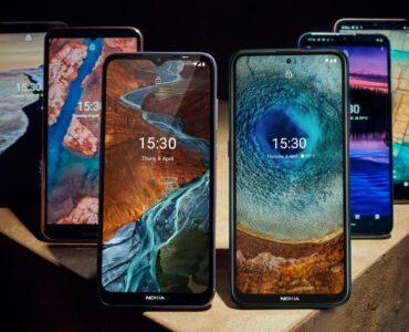 Nokia lanceert ineens 6 nieuwe smartphones.