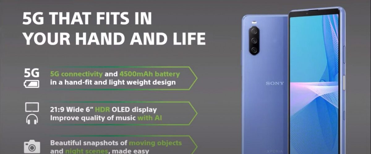 Sony lanceert de goed betaalbare Xperia 10 III.