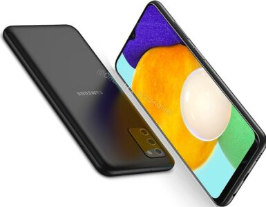 Samsung Galaxy A03s in beeld gelekt.