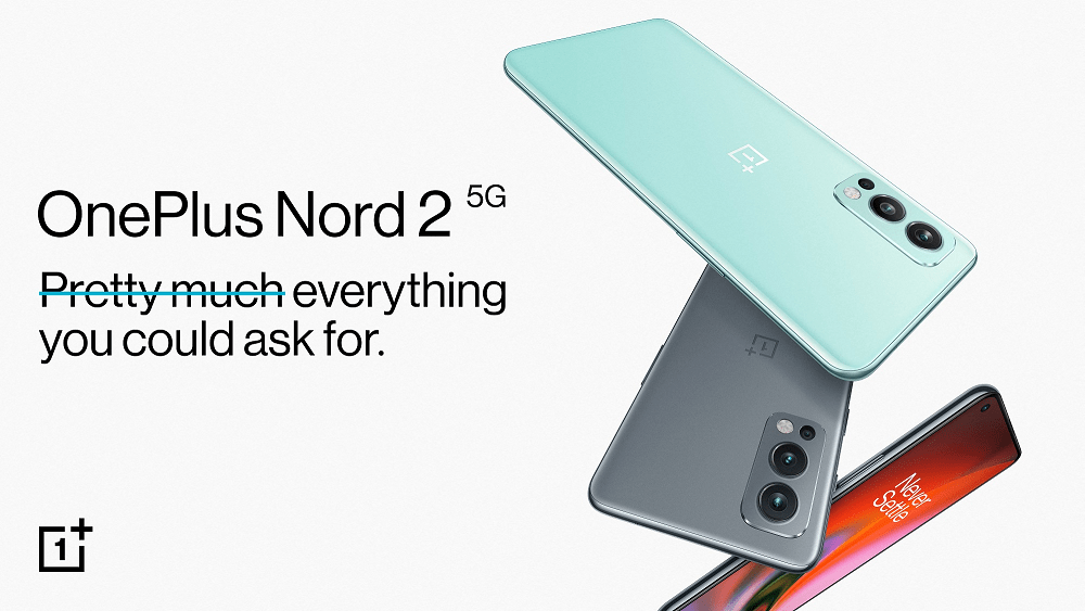 OnePlus Nord 2 5G officieel gelanceerd.