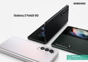 De Samsung Galaxy Z Fold 3 5G is officieel gelanceerd.
