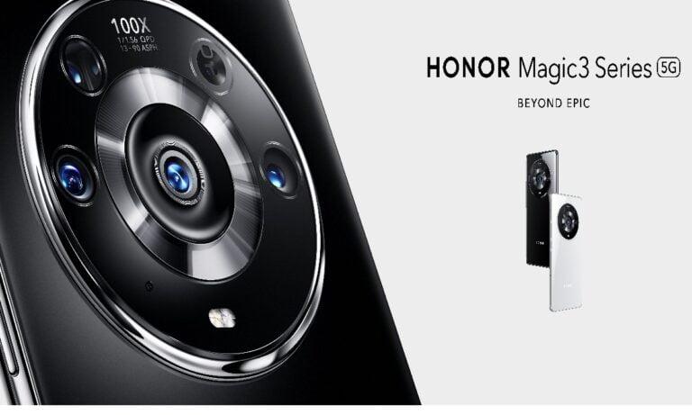 Honor Magic3 zet de nieuwe standaard bij de camera's.