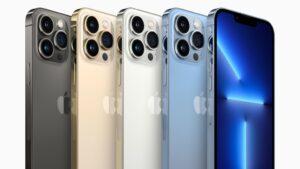 Apple lanceert de iPhone 13 Pro en iPhone 13 Pro Max.